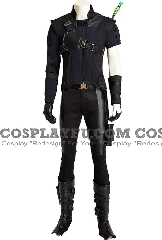 Clint Barton (Hawkeye) Cosplay Costume from Avengers: Infinity War