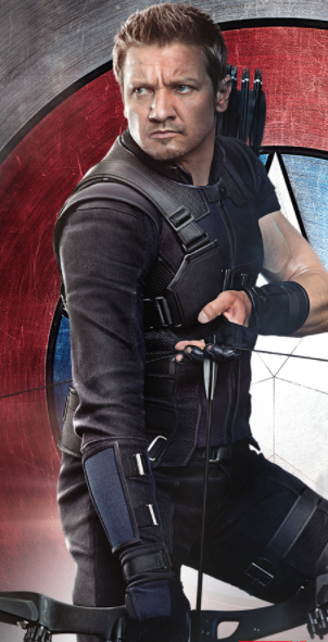 Clint Barton (Hawkeye) Cosplay Costume Props from Avengers: Infinity War