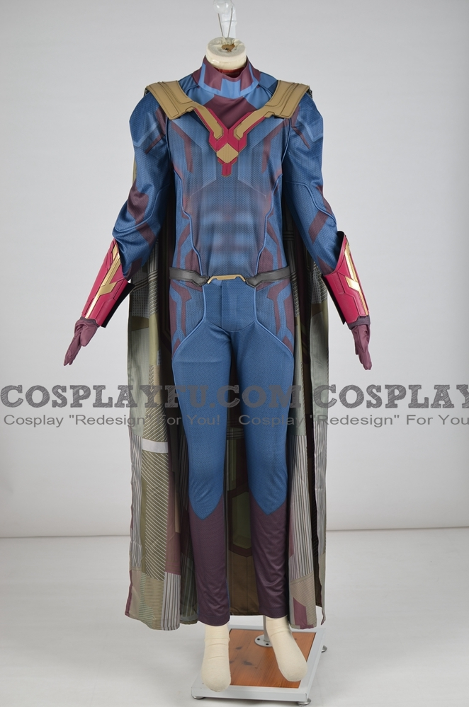 Vision Cosplay Costume from Captain America and the Avengers