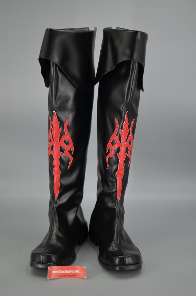 Red Mage Cosplay Costume Shoes from Final Fantasy XIV