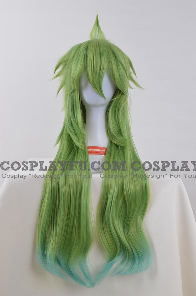 N Cosplay Costume Wig from Pokemon Black and White