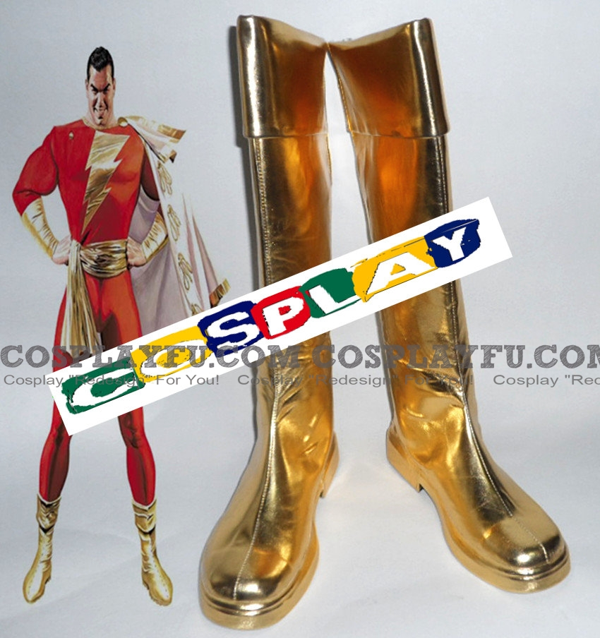 Shazam Shoes (135) from DC Comics