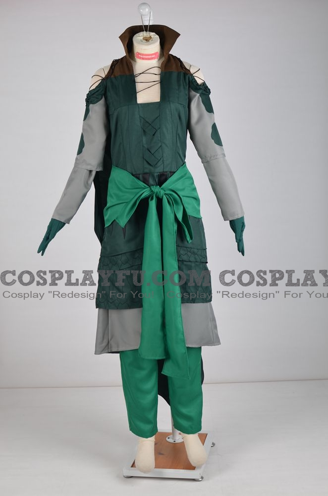 Nissa Cosplay Costume from Magic: The Gathering Online