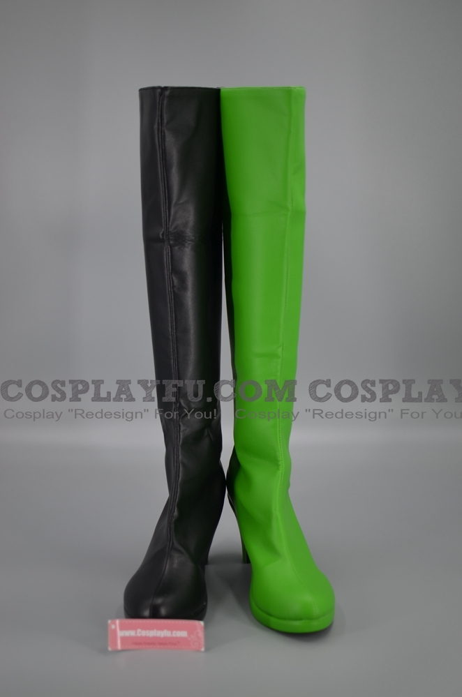 Shego Shoes (834) from Kim Possible