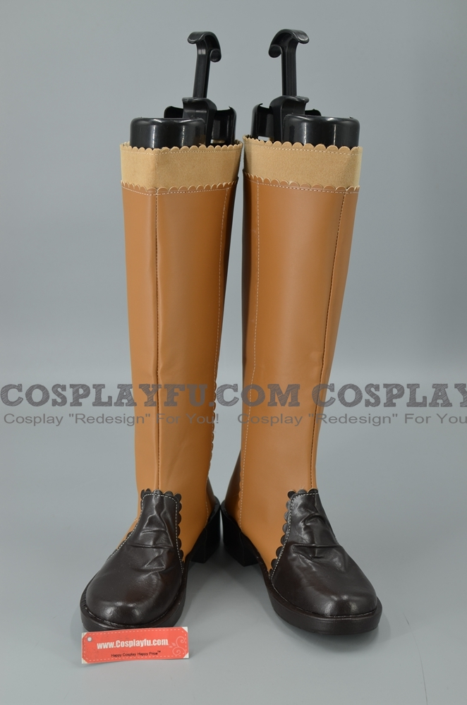 Final Fantasy X Yuna chaussures (1111)