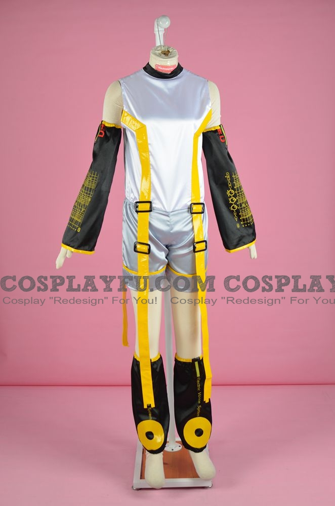 Rin Cosplay Costume (Append) from Vocaloid