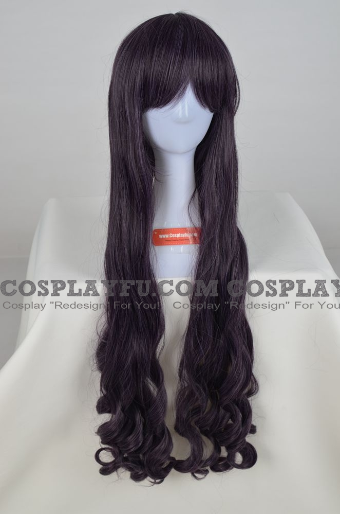 75 cm Long Curly Purple Wig (1999)