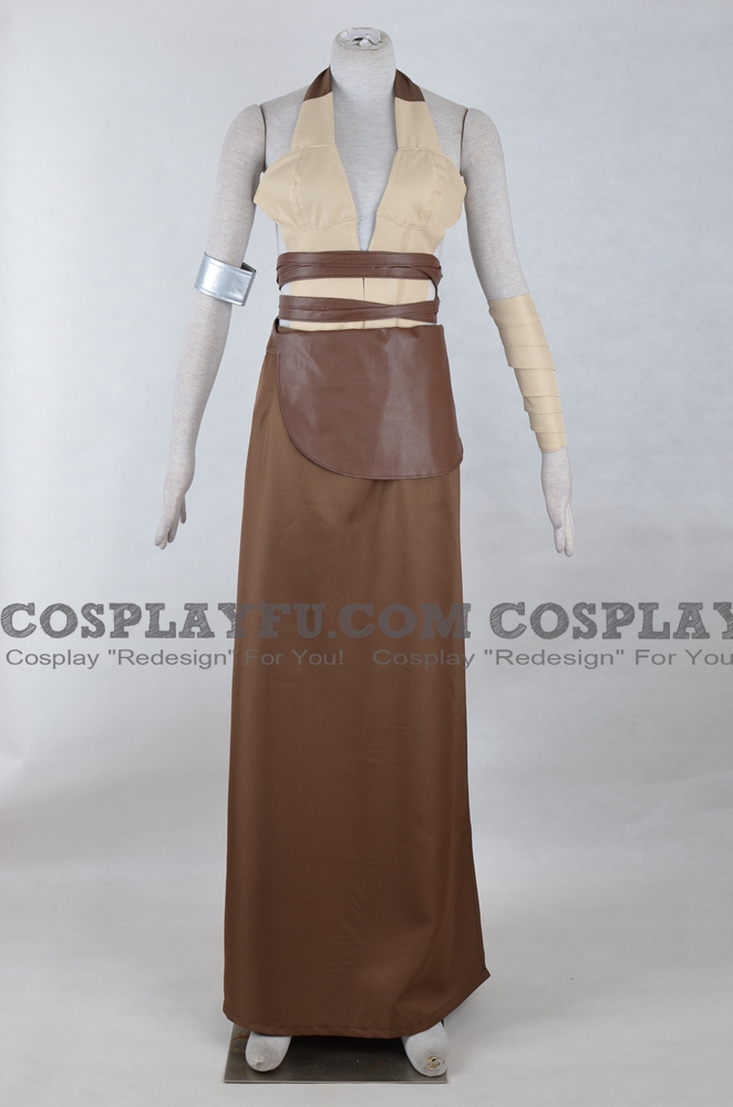 Shaak Ti Cosplay Costume from Star Wars: Galactic Battlegrounds - Clone Campaigns