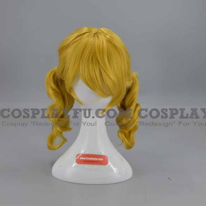 Medium Curly Blonde Wig (2889)