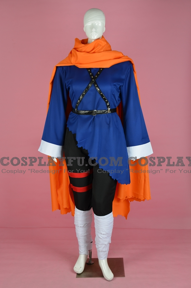 Hiro Cosplay Costume from Lunar: Eternal Blue
