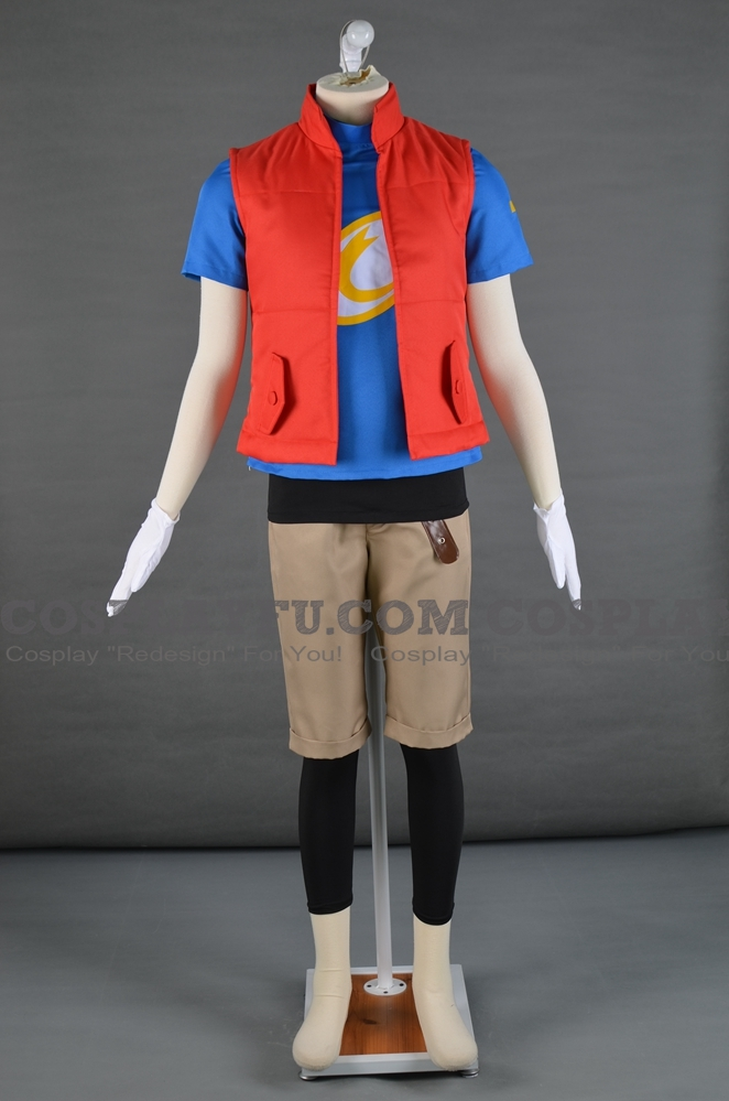 Mikey Cosplay Costume from Digimon Fusion