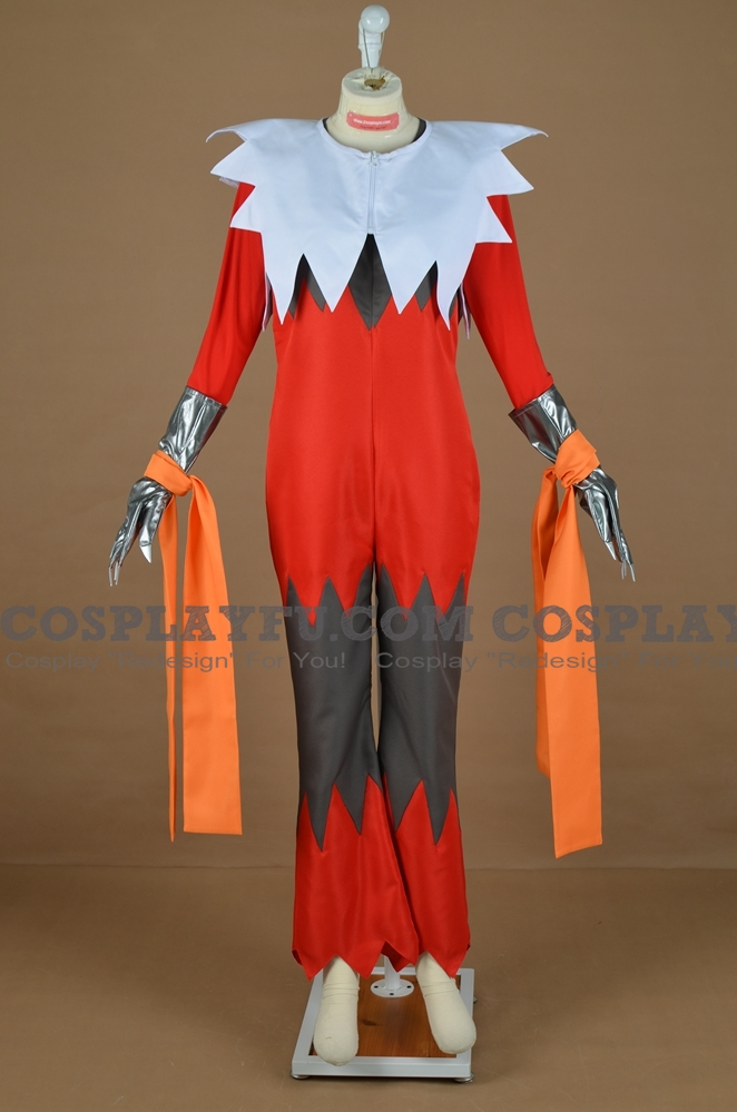 Mega Blaziken Cosplay Costume from Pokemon