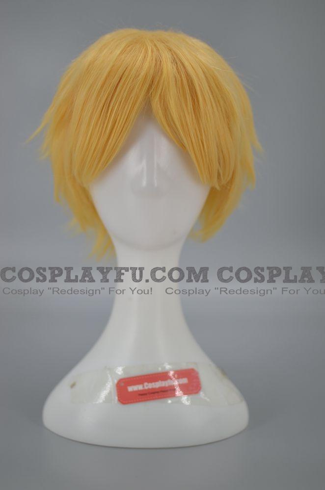 28 cm Short Blonde Wig (6250)