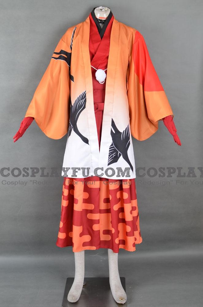 Bungō stray dogs Chūya Nakahara Costume (Kimono)