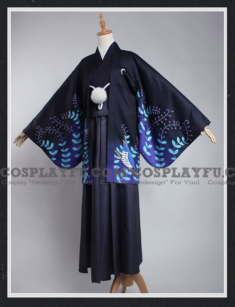 Ryuunosuke Cosplay Costume (Kimono) from Bungou Stray Dogs