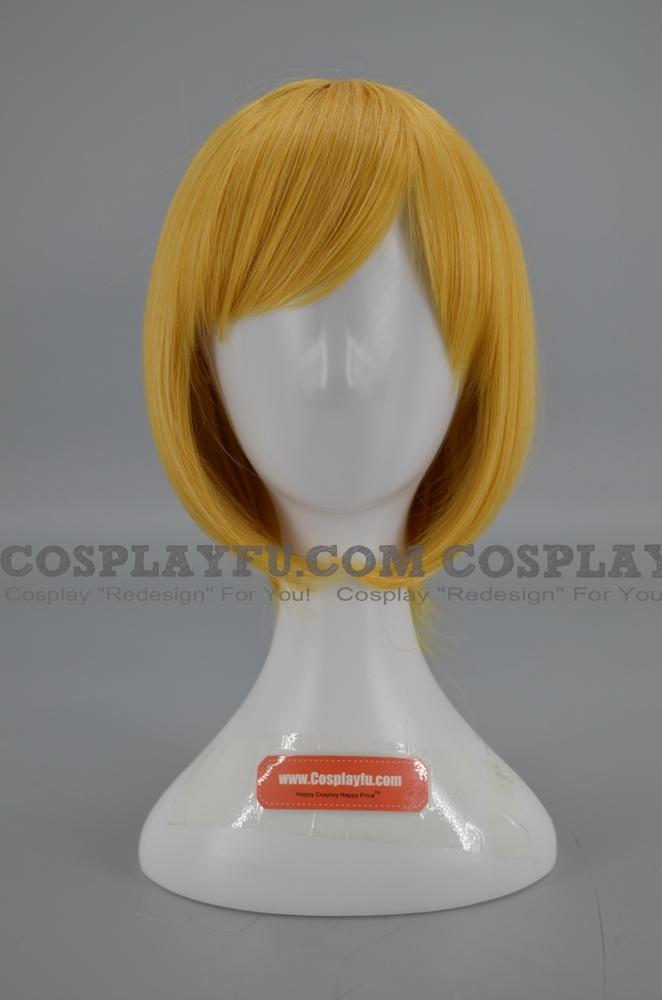 40 cm Short Yellow Wig (5639)