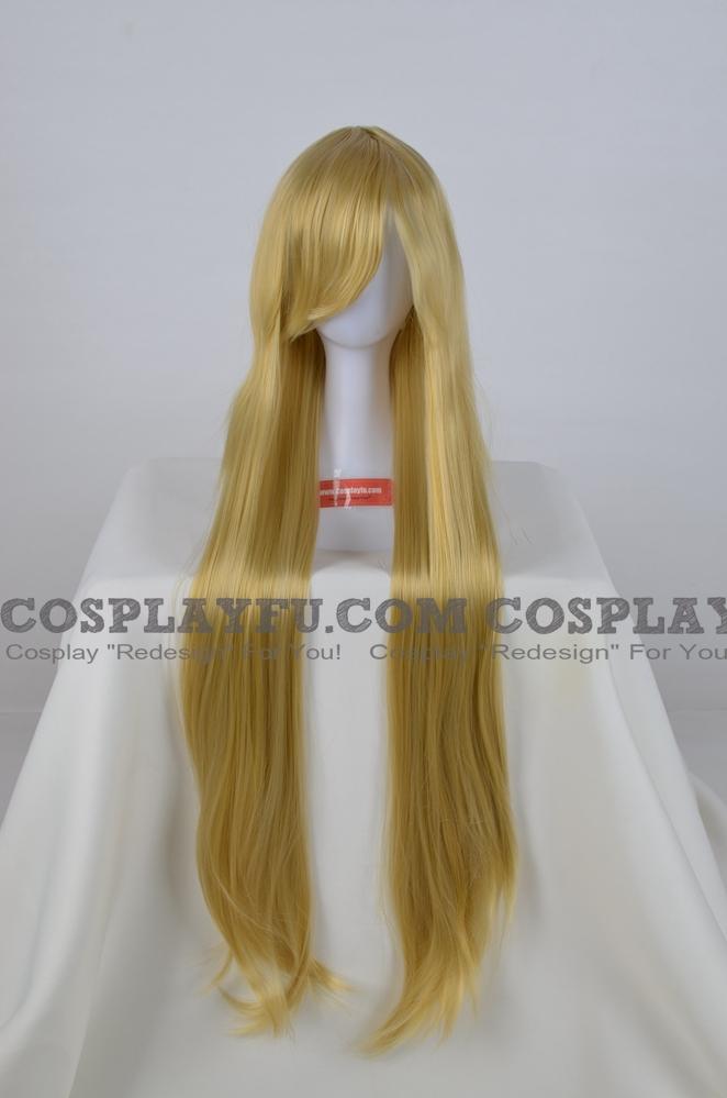 Long Straight Blonde Wig (6389)