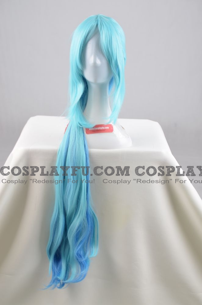 Long Straight Mix Colour Wig (6477)
