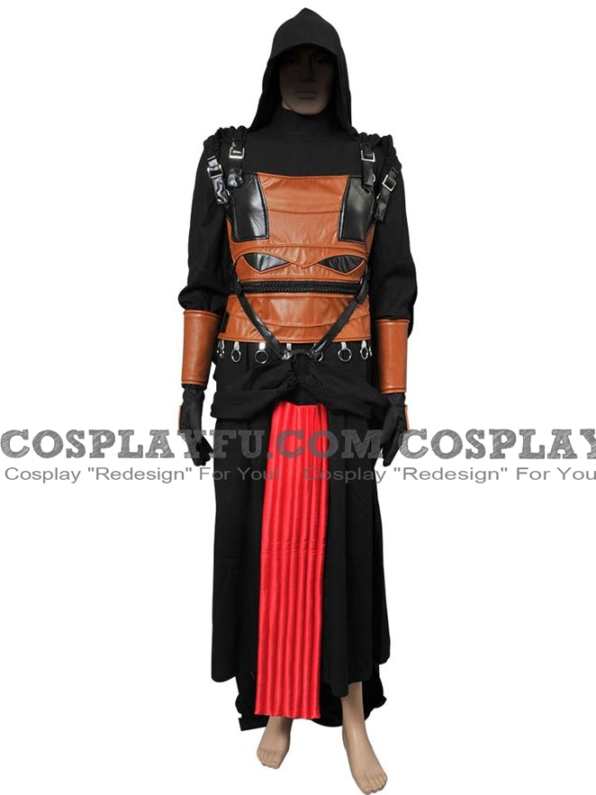 Darth Revan Cosplay Costume from Star Wars: Knights of the Old Republic