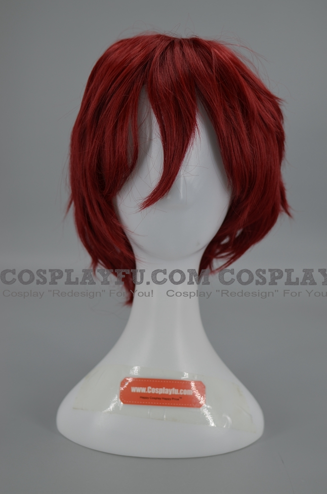 Short Straight Red Wig (6988)