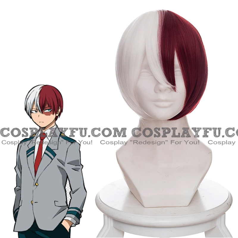Shoto Todoroki wig from My Hero Academia