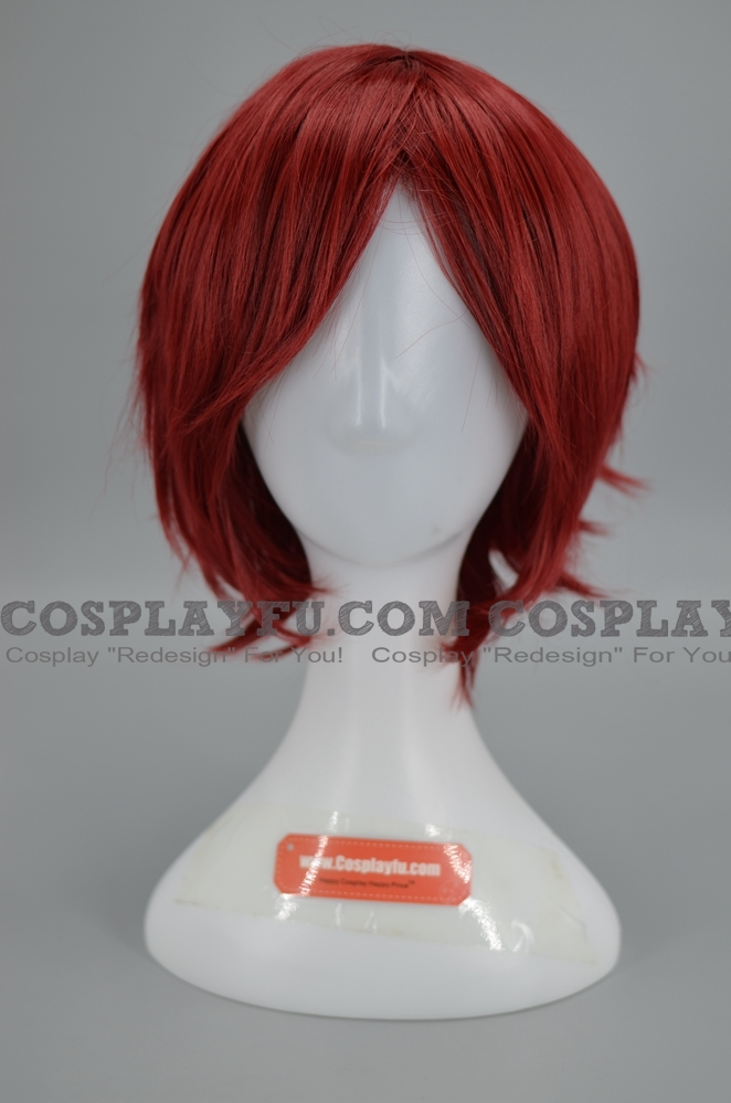 Short Red Wig (6949)
