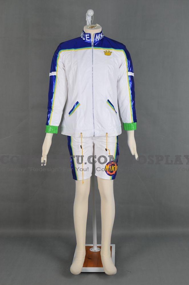 Uriko Cosplay Costume from Bloody Roar