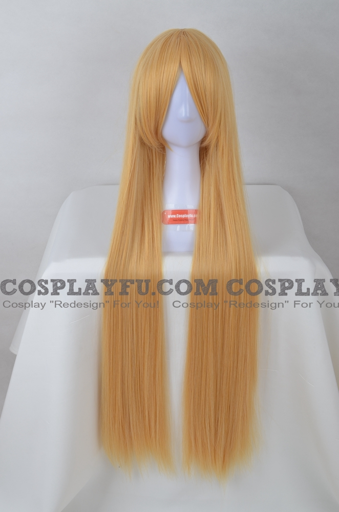 100 cm Long Blonde Wig (8661)