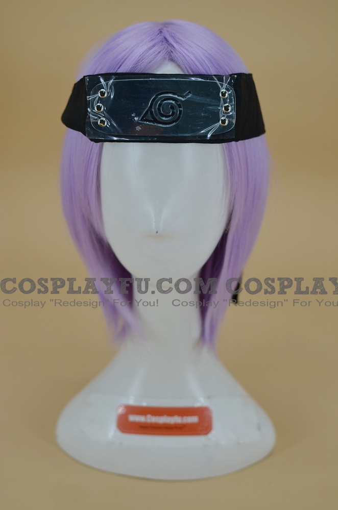 Naruto Headband (Black,Leaf Village) from Naruto