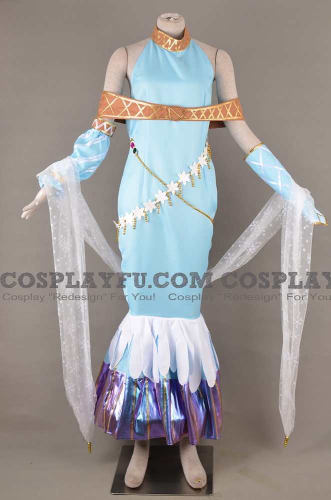 Ninian Cosplay Costume from Fire Emblem