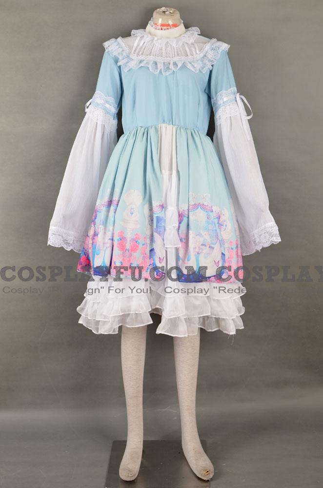 Swan Lake Lolita Dress Cosplay Costume
