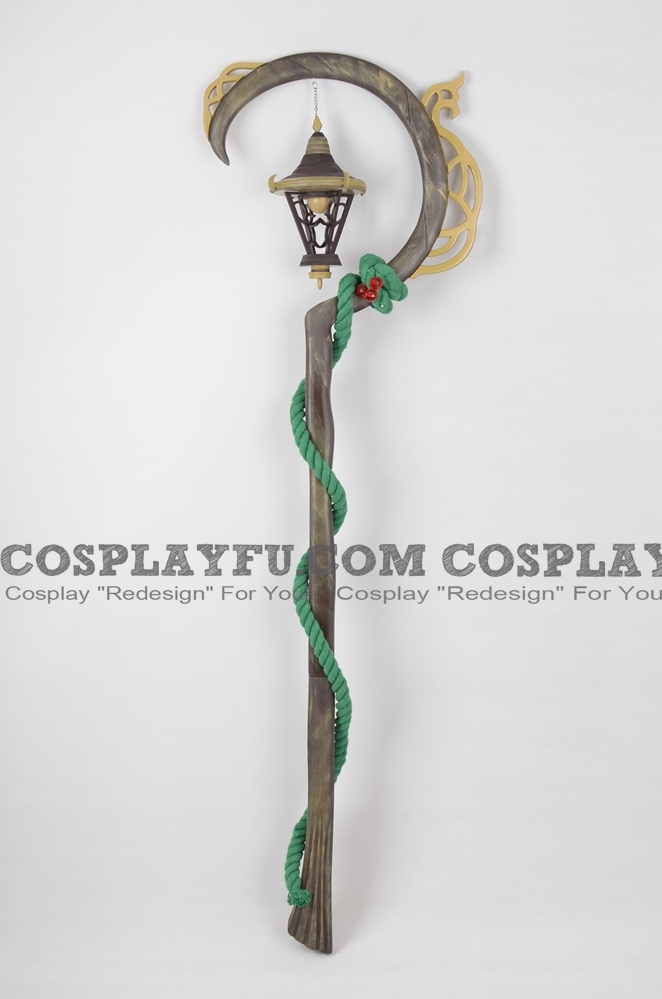 LeBlanc the Deceiver Cosplay Costume Staff from League of Legends (3753)