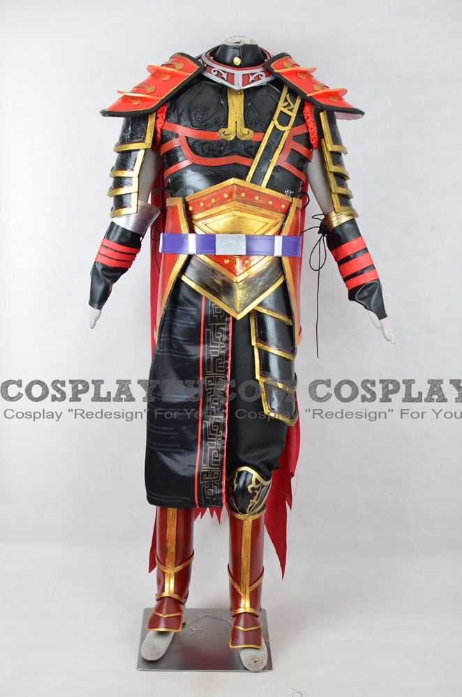 Zhou Tai Cosplay Costume from Dynasty Warriors