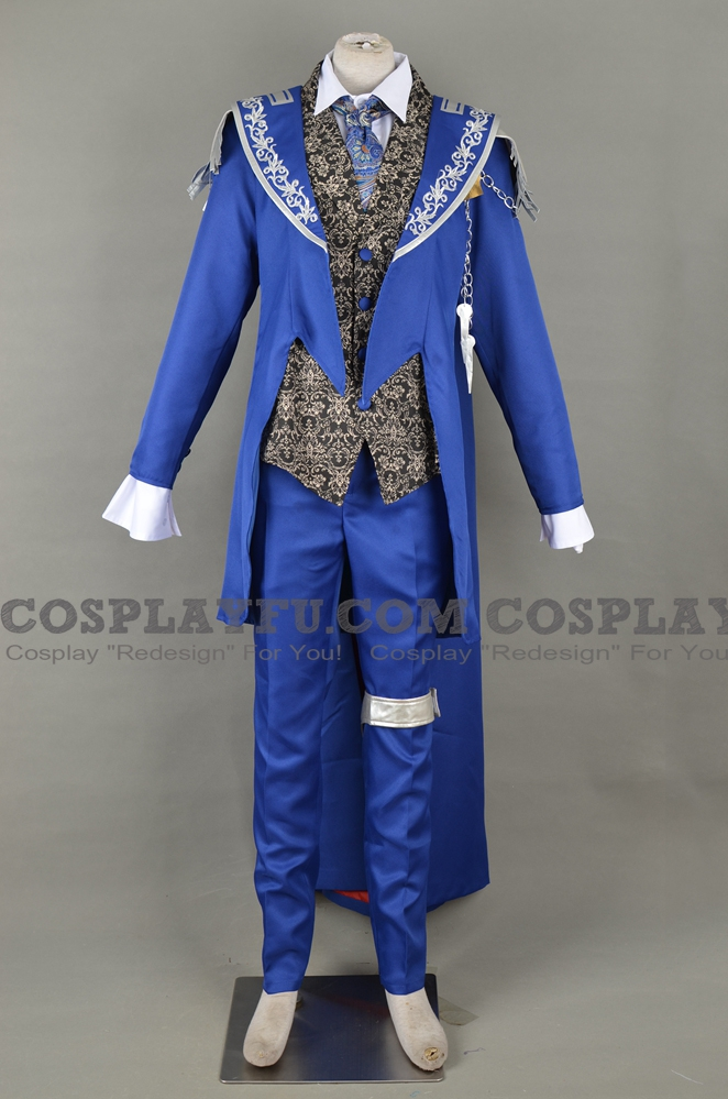 Blue Mage Cosplay Costume from Final Fantasy: Legend of the Crystals