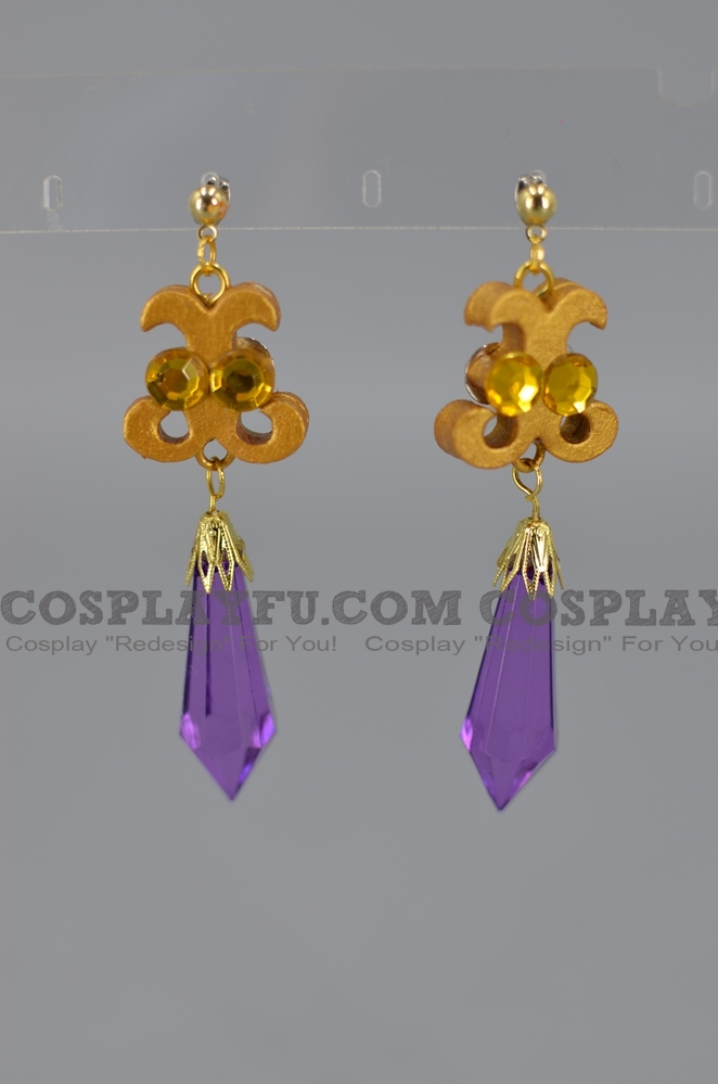 Chibi Moon Cosplay Costume Earring from Sailor Moon