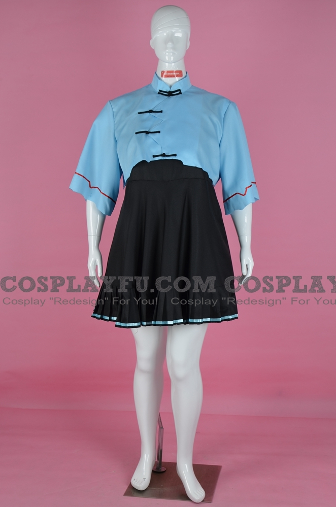 Luo Tianyi Cosplay Costume from Vocaloid (4365)