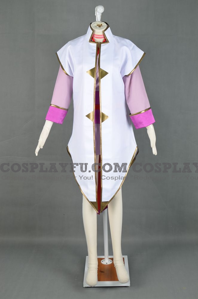 Lacus Cosplay Costume (Ship Champion Uniform) from Gundam Seed