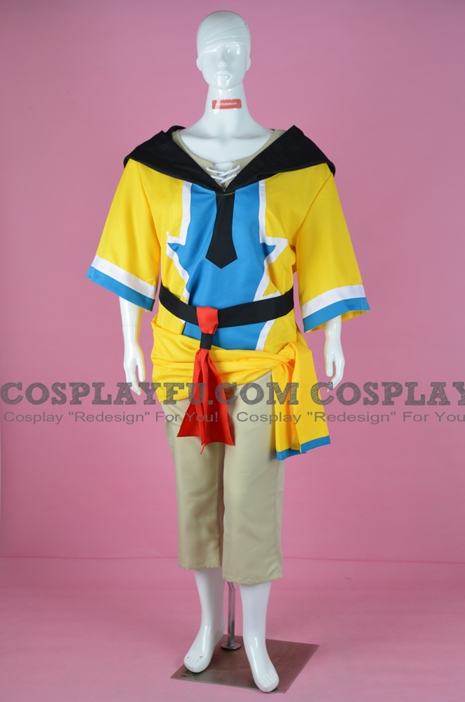 Ronfar Cosplay Costume from Lunar 2: Eternal Blue Complete