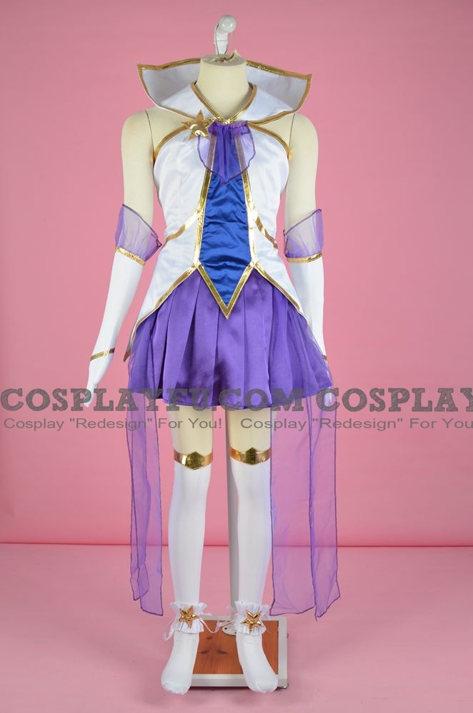 Janna the Storm's Fury Cosplay Costume from League of Legends (5019)