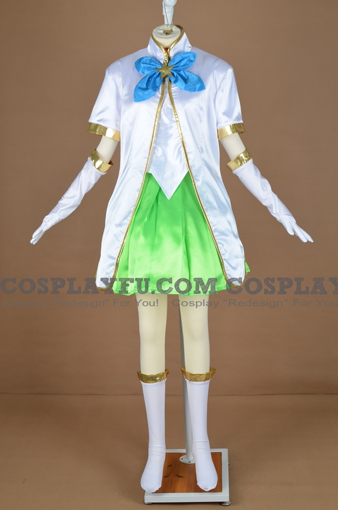 Lulu the Fae Sorceress Cosplay Costume from League of Legends (4860)
