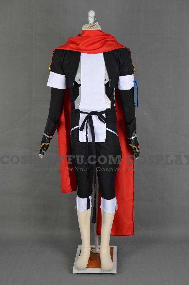 Tenzo Crossunite Cosplay Costume from Horizon on the Middle of Nowhere (6440)