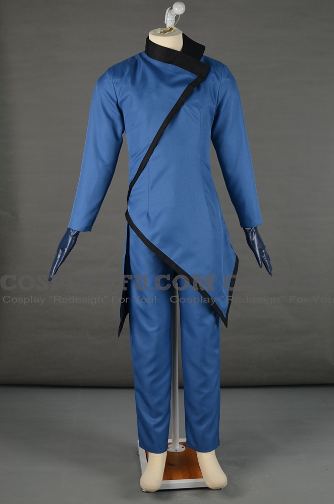 Helmut Kruger Cosplay Costume from Hitman
