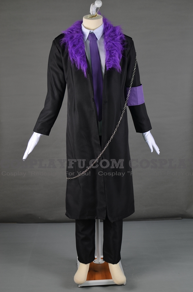 Ikuto Tsukiyomi Cosplay Costume from Shugo Chara! (6191)