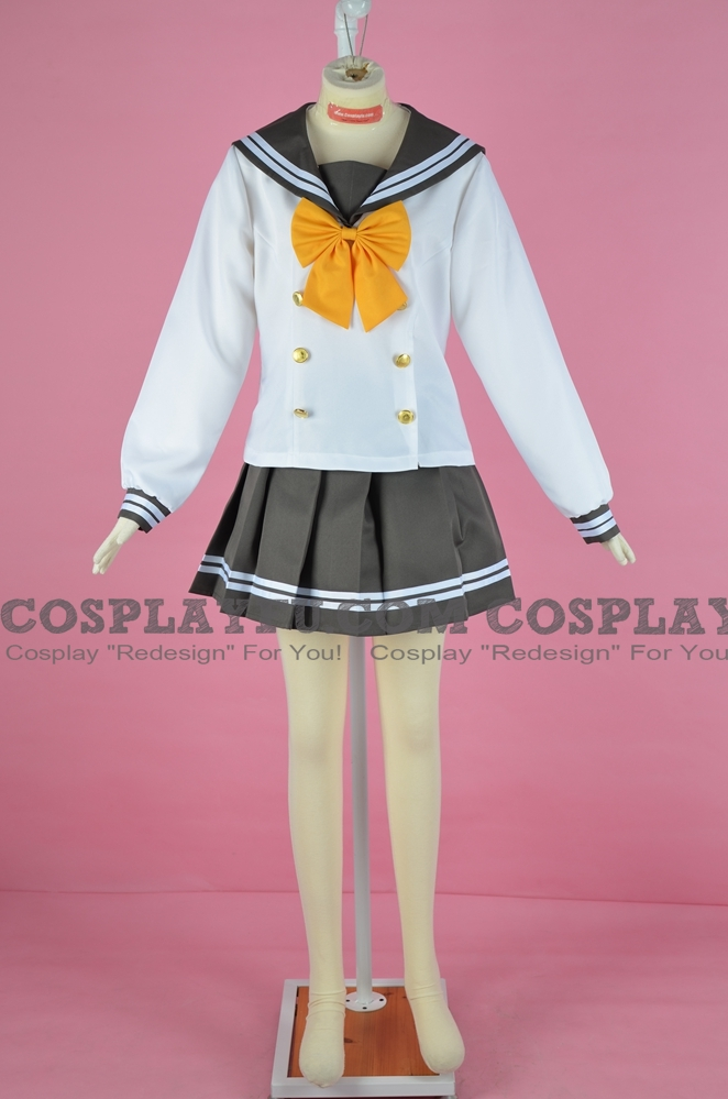 Ruby Cosplay Costume (Uniform, Kimi no Kokoro wa Kagayaiteru kai) from Love Live! Sunshine!!