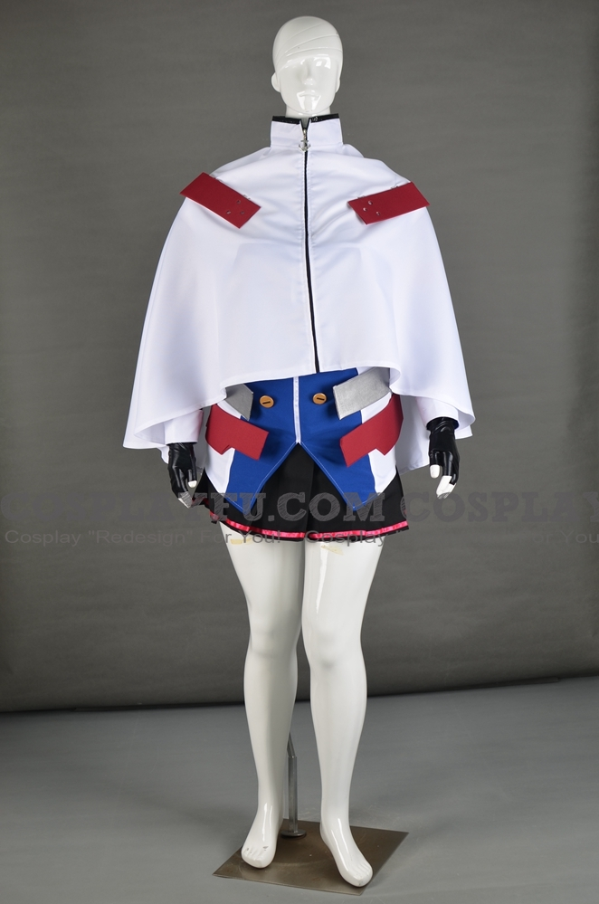 Cleveland Cosplay Costume from Azur Lane (6102)