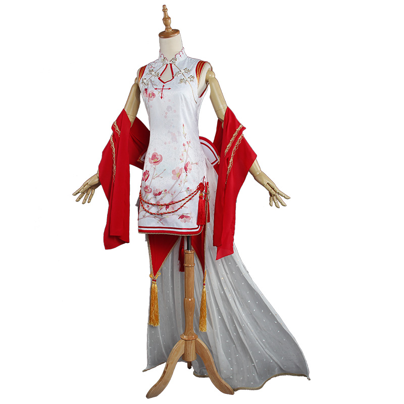 Asuna Yuuki Cosplay Costume from Sword Art Online (6487)