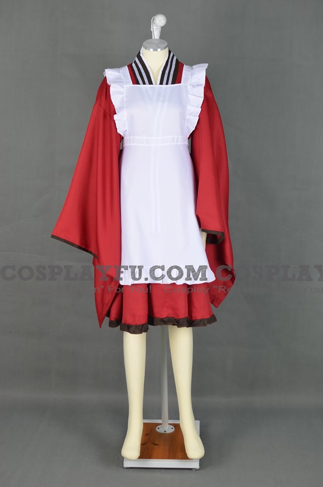 Tama Cosplay Costume from Gugure! Kokkuri-san (5145)