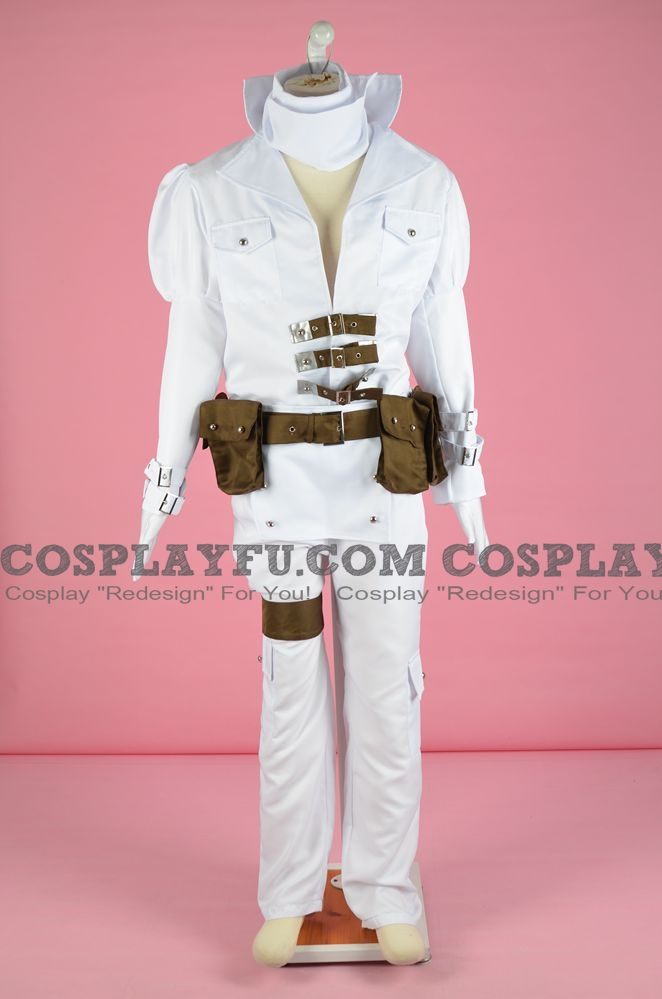 Jin Cosplay Costume from Capcom