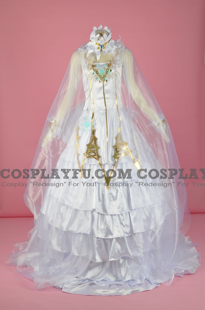 Tomoyo Cosplay Costume (Snow Angel) from Cardcaptor Sakura
