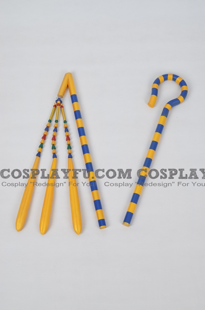 Ancient Egyptian Crook und Flail Cosplay